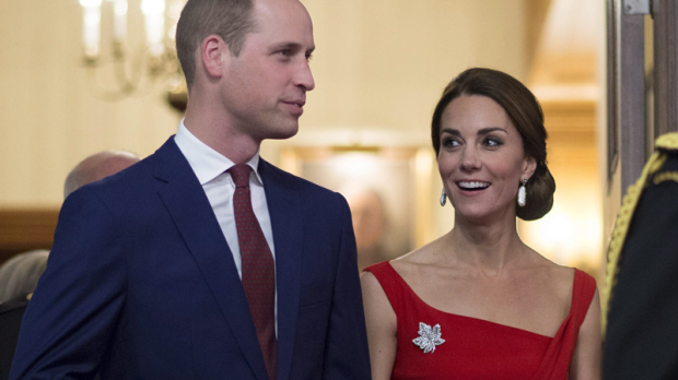 The Duke and Duchess of Cambridge arrive for a ceremony in Victoria, B.C., Monday, Sept 26, 2016. THE CANADIAN PRESS/Jonathan Hayward