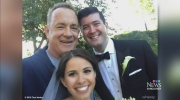 Tom Hanks: Celebrity wedding crasher