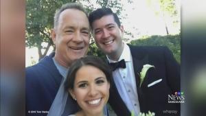 Tom Hanks: Celebrity wedding crasher