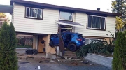Car crashes into Mission, B.C. home