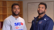 Justin and Jordan provide the right prescription for what it takes to be a student-athlete at SFU.