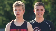 Luke Harris and Ges Bushe both have overcome adversity in their lives by sharing a passion to run together.