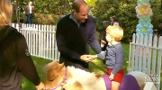 Young Royals steal the spotlight at kid's party