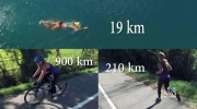 Athlete prepares for grueling 1,129-km triathlon
