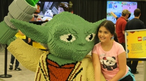 The LEGO Imagine Nation Tour arrived in Vancouver on Friday, touting life-size models of Marvel superhoes, Star Wars heroes and more. The event, seen at previous stops in Toronto and Ottawa, is being held at the Vancouver Convention Centre through Sunday, Oct. 2. (LEGO)