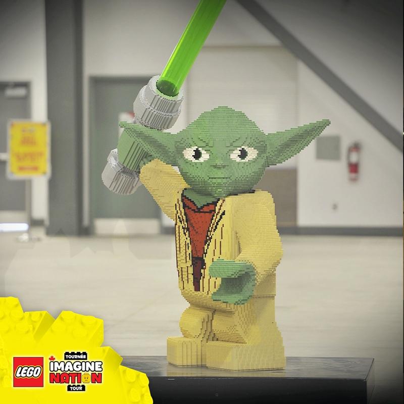 From Batman To Yoda Life Size Lego Models Take Brick