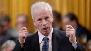 Foreign Affairs Minister Stephane Dion answers a question during question period in the House of Commons on Parliament Hill in Ottawa on Thursday, Oct. 6, 2016. (THE CANADIAN PRESS / Adrian Wyld)
