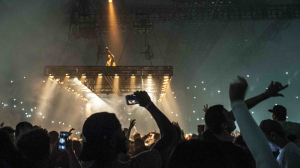 The 22-time Grammy Award winning artist, who has sold over 30 million albums, performed at Rogers Arena in Vancouver on Oct. 17, 2016, as part of the Saint Pablo tour. (Anil Sharma for CTV Vancouver)