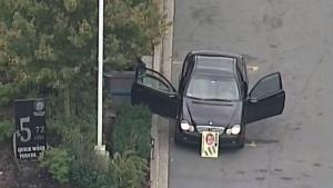 Suspect sought after brazen Delta shooting