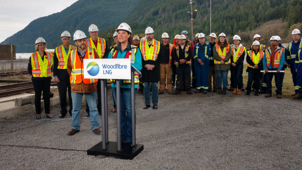 Woodfibre proceeding with BC's first LNG project in Squamish