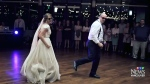 Father-daughter duo rock their wedding dance