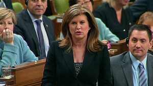 Rona Ambrose speaking the House of Commons