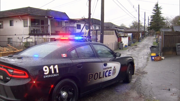 """Two people were taken to hospital in what Vancouver police are describing as a """"prolonged incident"""" at an East Vancouver home. (CTV)"""