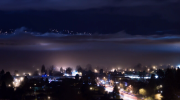 Photographer Rahul Abedin took stunning video of thick fog rolling across the city. (VIMEO)