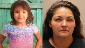 An Amber Alert has been issued for 9-year-old Luisa Noyemi Alvarenga, allegedly abducted by her mother 43-year-old Colleen Sheryl McIvor from Portage la Prairie, Manitoba. (RCMP)