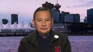 Stewart Phillip, grand chief of the Union of British Columbia Indian Chiefs, speaks to CTV's Question Period from Vancouver.