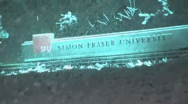 Several schools, including Simon Fraser University, have cancelled classes as snowfall hits the region. (CTV)