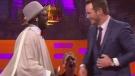 Chris Pratt fumbles card trick on TV talk show