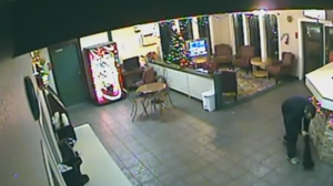 Police in Abbotsford are searching for three suspects after a hotel clerk was bound and threatened during a frightening robbery. (Abby PD)