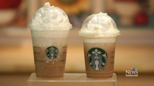 Calories add up with holiday-themed beverages