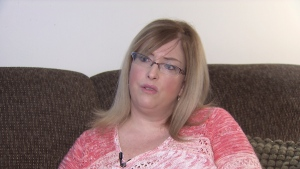 Jenny Ingraham says she didn't receive proper care from Royal Columbian Hospital medical staff when she was feeling suicidal.  (CTV News). Jan. 15, 2017.