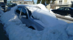 A Volkswagen owner in East Vancouver has posted a cheeky Craigslist ad for anyone willing to dig the vehicle out of the snow.