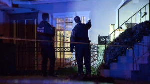 The residents of a Vancouver home are apparently not cooperating with investigators after a shooting on Jan. 19, 2017. (CTV)