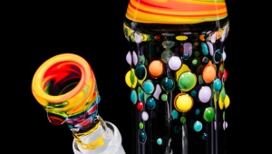 A RooR bong is shown in this image. (RooR)