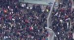 Thousands of people took to the streets of downtown Vancouver for the Women's March on Washington Saturday morning. (CTV News). Jan.21, 2017.
