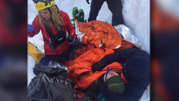Good Samaritans credited with saving life of skier