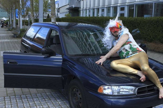 Craigslist Vancouver Bc >> Creative seller of used Vancouver 'Party Car' poses on