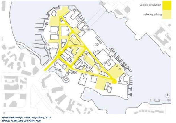 Bridge elevator fewer parking spots part of Granville Island plan