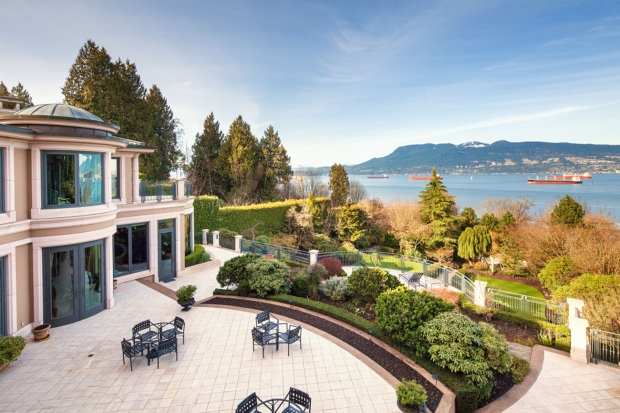 At $63 million, 21,000-square-foot mansion sets Vancouver real