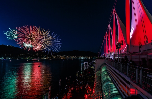 Canada 150 events/Canada Place fireworks.jpg