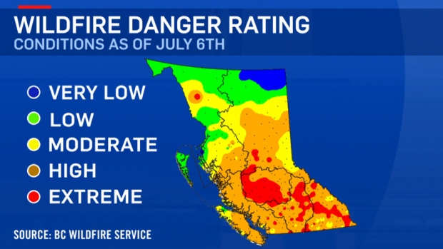 Campfires banned throughout Cariboo Fire Centre