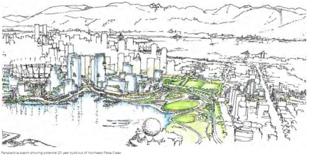 Plans for Northeast False Creek