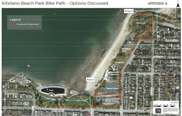 Kitsilano bike path plan