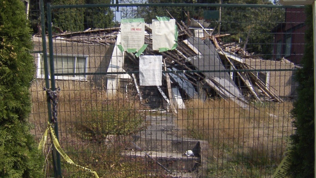 Pile of rubble for sale in Vancouver