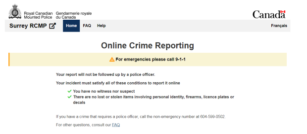These are the questions on Surrey's new online crime
