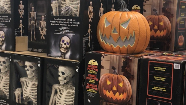 Halloween arrives early at Costco