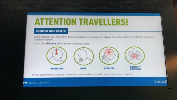 YVR warns of coronavirus