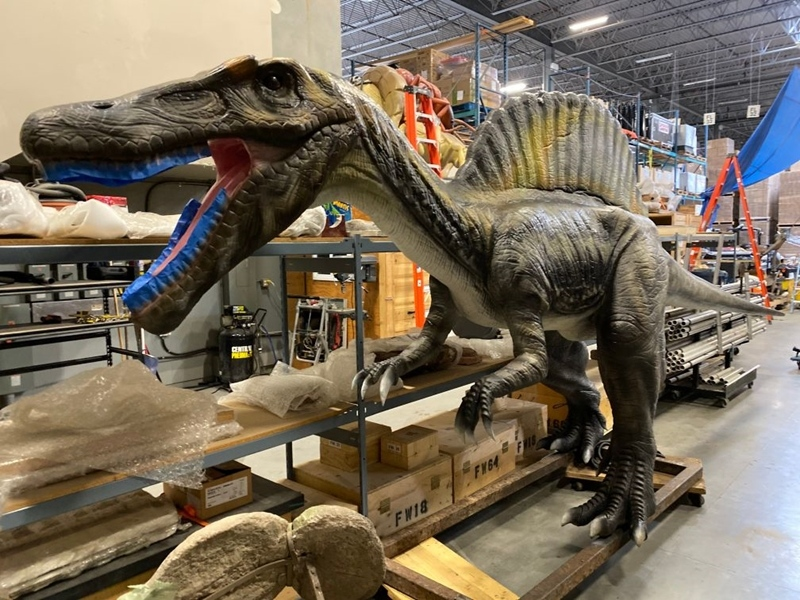 Life-sized dinosaurs for sale