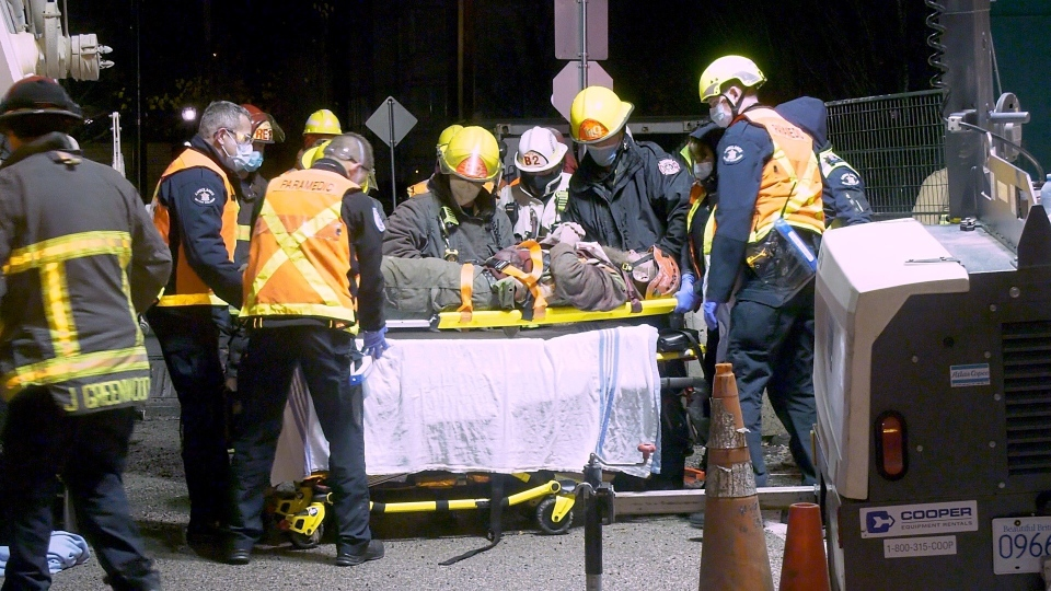 Rescue at Vancouver construction site