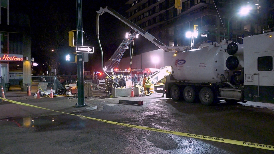 Vancouver construction site accident