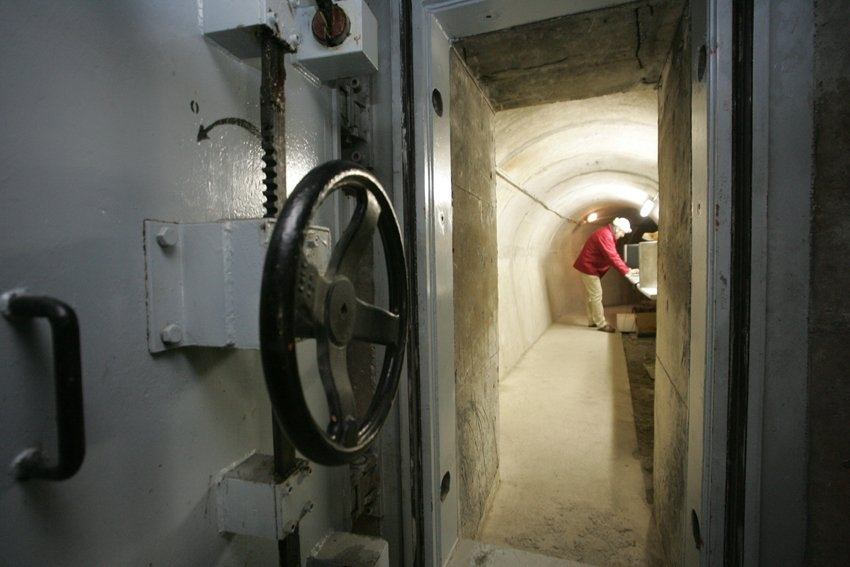 French bunker turned into underground lab
