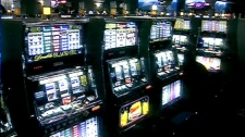 An interior view of an Ontario casino