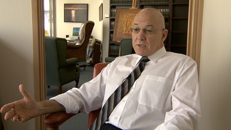 Glen Orris, the lawyer for Karl Lilgert, told CTV News his client has never denied responsibility for the ferry sinking that killed two people in northern B.C. in 2006. March 16, 2010. (CTV)