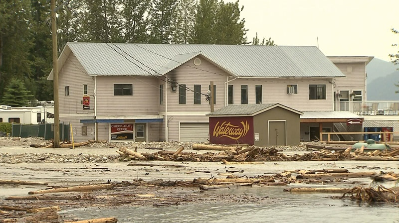 The owners of Waterway Houseboats in flood-ravaged Sicamous, B.C. say the business should reopen by mid July. June 30, 2012. (CTV)