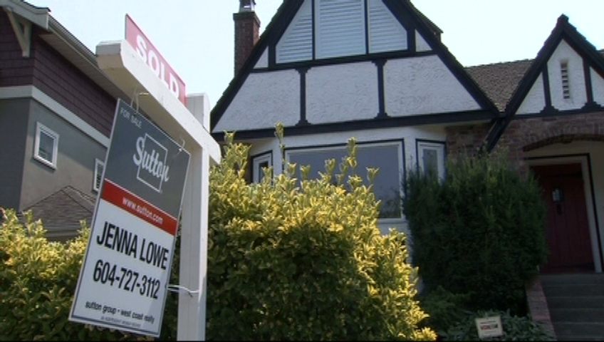 Housing sales in Vancouver are almost at an all-time, 14-year low, according to a real estate board. Sept. 5, 2012. (CTV)