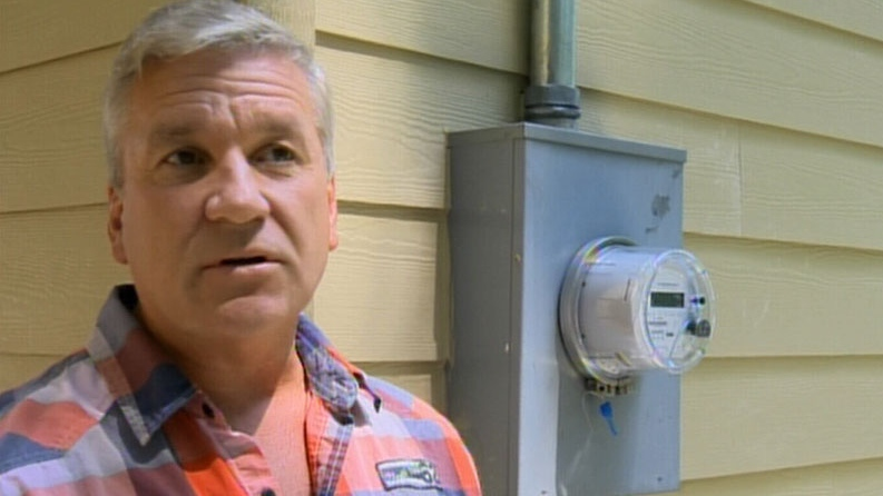 Phillip Oldridge of Vancouver Island wants to take on BC Hydro with a class action lawsuit for its smart meter program. July 13, 2012. (CTV)
